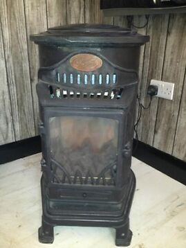 Provence Calor Gas Portable Heater[looks Like A Log Burner]