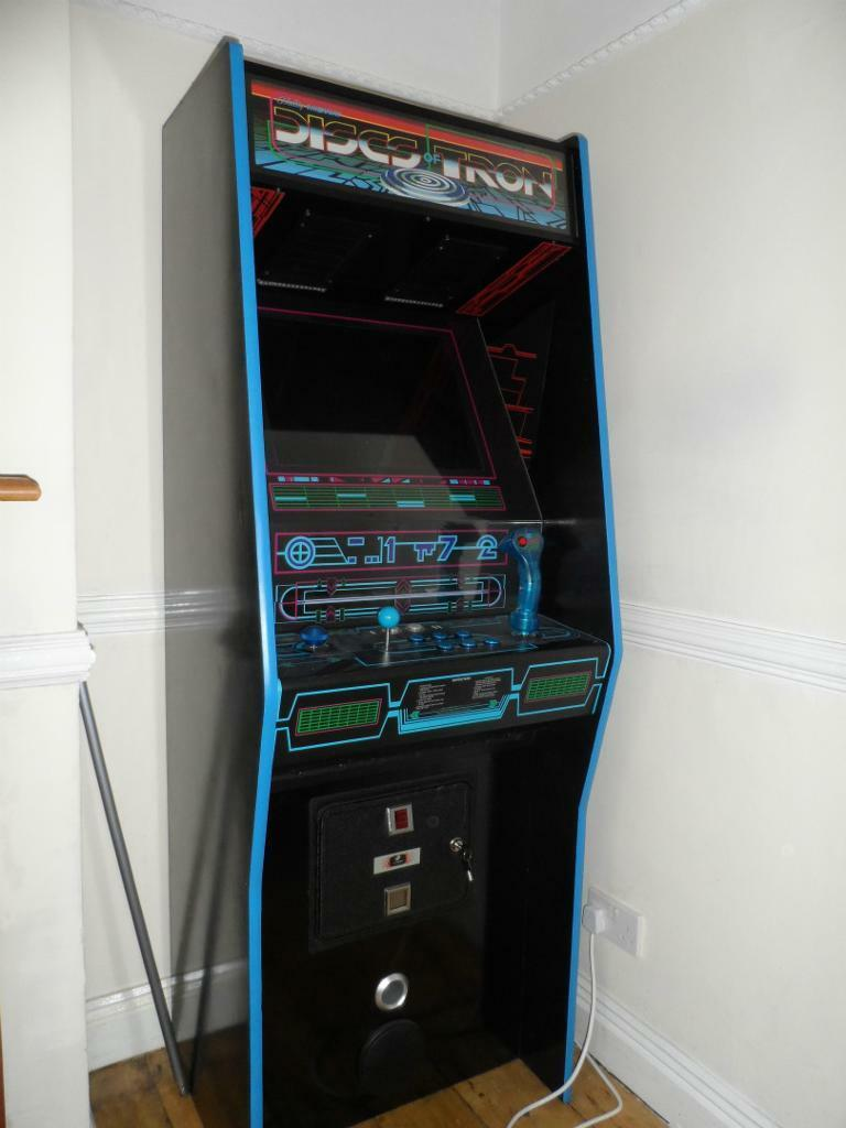 i made arcade player com hand custommade custom e cabinet by edwards isaac