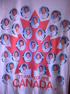 1976 TEAM CANADA Team Photo Shirt (NEW: Gift With Purchase)!