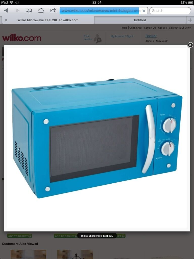 27 Built In Oven Microwave Oven: Blue Microwave Oven