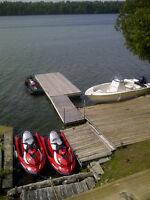 Loughborough Lake   waterfront home weekly vacation rental
