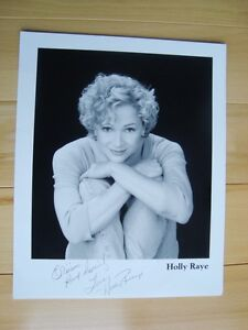 An Autographed 8x10 Picture of Holly Raye -FREE (See Below) Kitchener / Waterloo Kitchener Area image 3