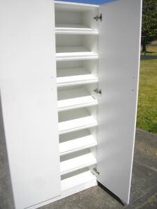 New Big Custom Shoe Cabinet Shelf Storage Cupboard Liverpool 2168 Colours Avail Ebay