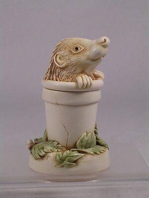 Harmony Kingdom 'pot Sticker' Tjhe4 Treasure Jest Hedgehog Figurine - 2000