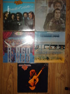 5 Old records for sale