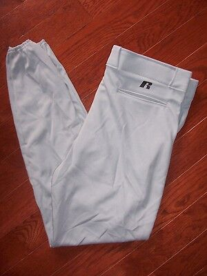 Russell Athletic Gray Baseball / Softball Pants Mens Size Xl Or Xxl