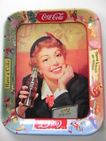 Original Vintage 1953 Coca Cola Tray Menu Girl EX Cond! Antique