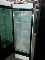 Single Glass Door Freezer, Restaurant Bakery Deli Equipment