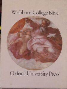 Washburn College Bible, Oxford University Press, 1980