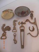 Assortment of Brass items
