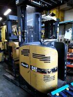 Late Model Caterpiller Reach Truck Forklift for Sale