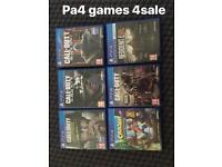 PS4 games from 10
