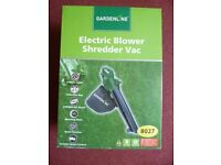 Gardenline electric leaf Blower Shredder Vac - unused - still boxed