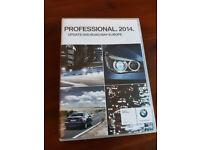 BMW DVD PROFESSIONAL EUROPE SET of 3 DVDs SATELLITE NAVIGATION 2014