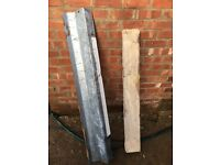 2 x External Steel Lintels and 2 x 1.2m Concrete Lintels for standard door openings
