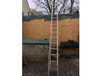 Double extension ladder ( gravity )