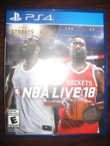NBA Live 18: The One Edition. For Playstation PS4 Game System. Multi Player. Create Unique Player. Create NBA Dream Team