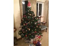 Artificial Christmas Tree excellent condition