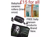 Babyliss thermo-ceramic rollers. New as tried once
