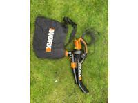 Worx leaf blower
