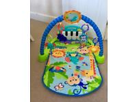 Fisher price kick and play mat
