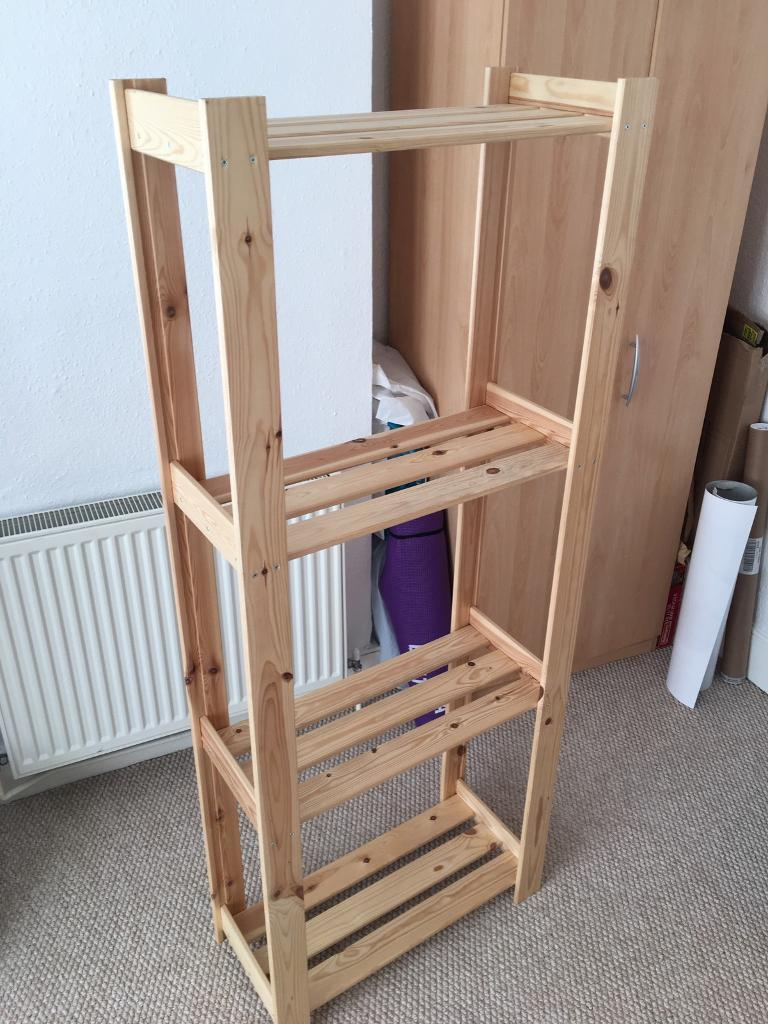 ikea albert wooden regal | in hove, east sussex | gumtree