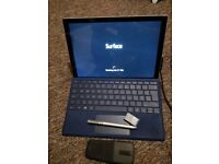 Surface pro 4 i5 4gb ram 128gb storage + keyboard/pen + surface mouse + memory card
