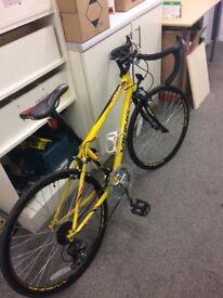 "Boys road bike Viking jet stream 24"" wheels 9-12 Year's used , odd scuff and general wear and tear"