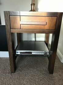 Wanted *** Sonoma Dark Oak Side Table. Marks & Spencer
