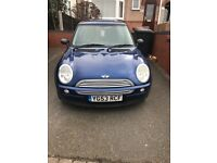 Mini One 2003 (53) Blue, 3 doors, 99000 Miles, Great runner