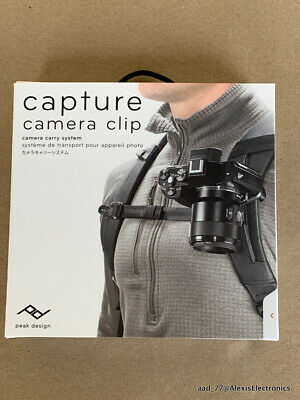 Carry System - NEW CAPTURE CAMERA CLIP CAMERA CARRY SYSTEM BY PEAK DESIGN FAST FREE SHIPPING