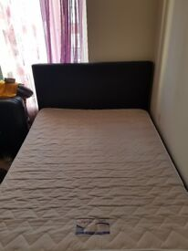 Double bed with matters to sell