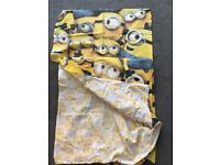 Minions duvet set and onesie
