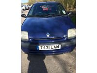 Blue Renault Clio 1.2 Grande 1999 - Great condition for year