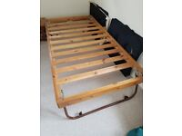 underbed truckle single bed as new. free!