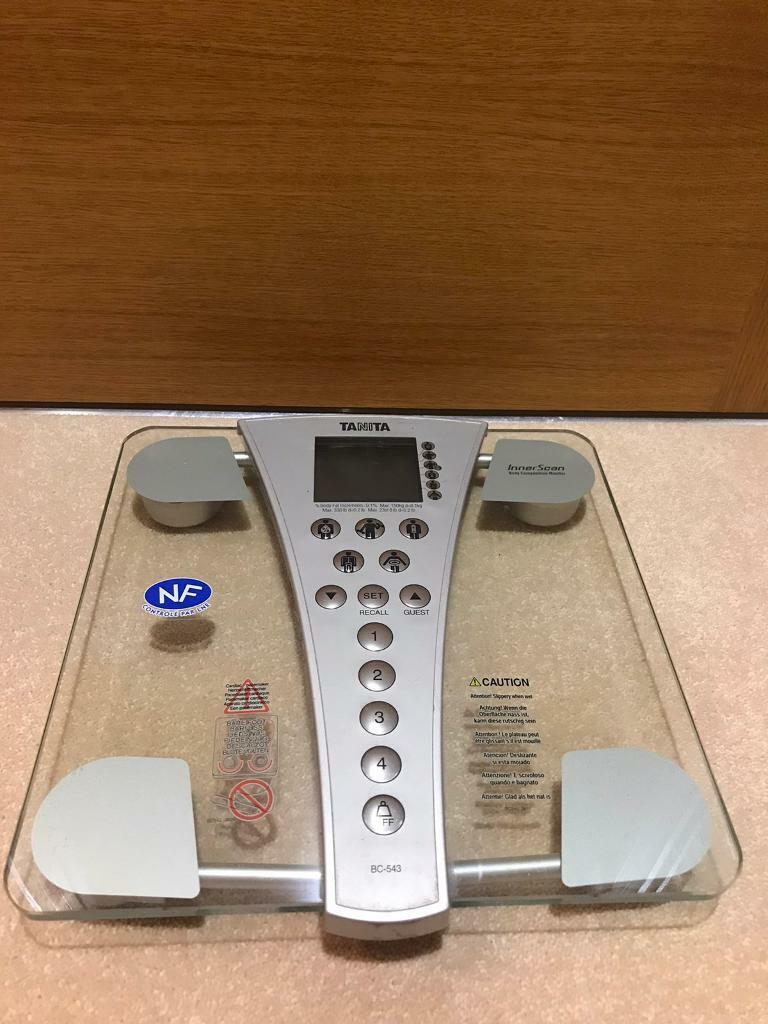 Tanita InnerScan body composition scales