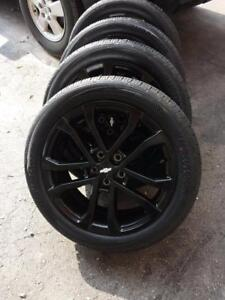 BRAND NEW CHEVY SONIC FACTORY OEM 17 INCH WHEELS WITH BRAND NEW HANKOOK HIGH PERFORMANCE 205 / 50 / 17 TIRES