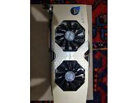 HIS AMD Radeon r9 280x iPower IceQ X2 Turbo 3GB, used for sale  Bournemouth, Dorset