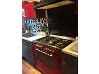 Kitchen for sale ! Grey and red Ikea