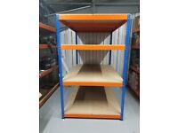 5 Shelving Unit Heavy Duty Warehouse Shelving Units Different Size - Used but in very good condition