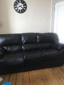 Reclining leather 3-1-1