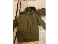 Chub Set Vantage Weathershield Jacket And Overtrousers Size L