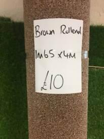 Carpet rollend £10