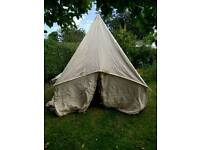 Old style vintage Bell tent
