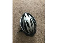 Brand new large bike helmet with light
