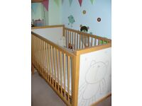 Excellent Condition Mother Care Cot Bed