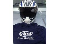 *** Arai Tour X3 Adventure Helmet - Long Way Down Replica *** £200