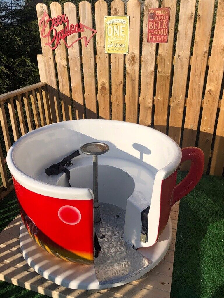 Astonishing Unique Garden Furniture Spinning Tea Cup Seat Bench Or Childrens Playground Toys For Patio In Londonderry County Londonderry Gumtree Machost Co Dining Chair Design Ideas Machostcouk