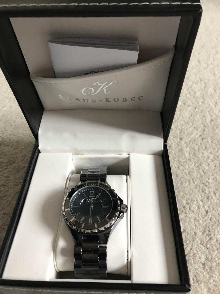 Men's Klaus Kobe's Watch Brand new never worn