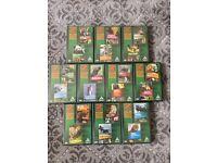 10 x WILDLIFE DVDs